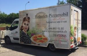 Partyservice - Holzofen Pizzamobil